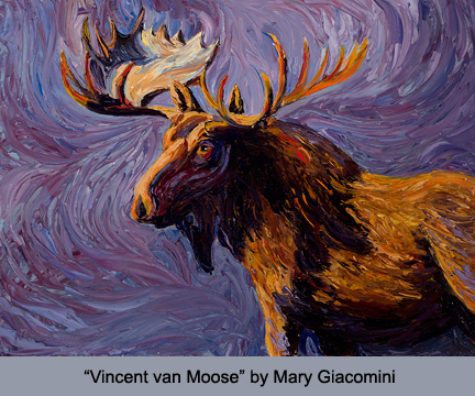 Vincent Van Moose by Mary Giacomini
